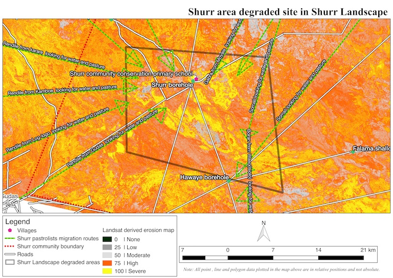 Community resource mapping  and visioning in Hurri hills and Shurr landscapes